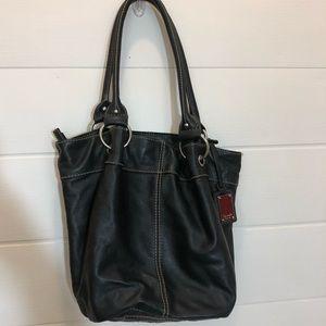 Tignanello Leather Bucket Purse 👜 100% leather